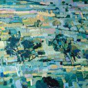 impression painting Dana Cowie artisit